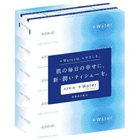 エリエール プラスウォーター(+Water) ティシュー(5箱パック)/ 大王製紙