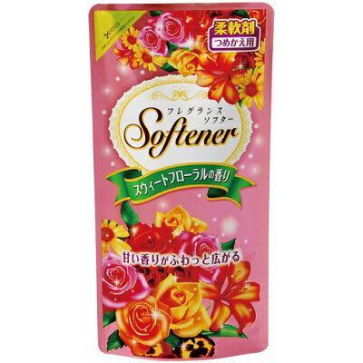 フレグランスソフター スウィートフローラルの香り 詰替(500mL)/ 日本合成洗剤