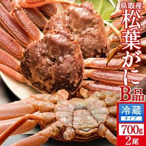 かに 訳あり 松葉がに[B品]大700g×2尾セット 活ガニ 生き蟹 松葉蟹 鳥取県産 通販直送 マツバガニ わけあり 日本海ズワイガニ