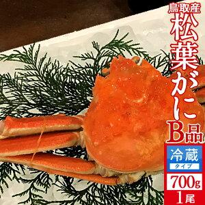 かに 訳あり 松葉がに[B品]大700g 浜ゆで松葉蟹 ゆでがに 鳥取県産 通販直送 マツバガニ わけあり 日本海ズワイガニ