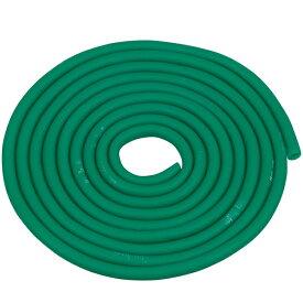 おうち時間 D&M セラチューブ3m 強度レベル+1 グリーン #TTB-13 トレーニングチューブ