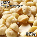 塩付きマカダミアナッツ (280g) アメリカ産 【RCP】