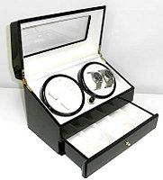 ■送料無料■ ワインダー DX4連 ワインデイングマシン SR074 世界の マブチモーター 信頼の ワインディングマシーン 腕時計など自動巻き時計にお勧め 腕時計収納ケース 時計ケース ワインディングマシン ワインダー KA074後継