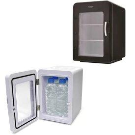 小型 冷温庫 1ドア 1人暮らし ポータブル冷蔵庫 保温も可能 AC/DC電源 冷蔵庫 保冷機 保温機 クール&ホット お