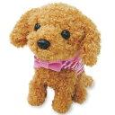 よびかけアクション 愛犬モカちゃん 《包装無料》 動くぬいぐるみ 動くおもちゃ 呼びかけアクション かわいいワンちゃん トイプードル …