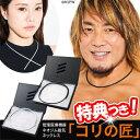 マッスルプロジェクト 磁気ネックレス コリの匠 MP-JN01 ブラック シルバー 男女兼用 コリ匠 ネオジム磁石 日本製 管…
