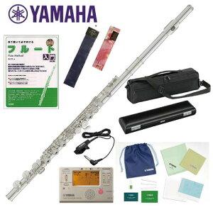 YAMAHA YFL-312 初心者入門セット ヤマハ フルート これではじめるお得なセット! ヤマハ YFL312 お手入れセット チューナー メトロノーム