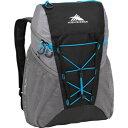 ハイシエラ バックパック レディース【High Sierra 18L Packable Sport Backpack】BLACK/CHARCOAL/POOL