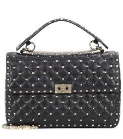 ヴァレンティノ Classic Bag レディース【Valentino Garavani Rockstud Spike Large leather shoulder bag】black