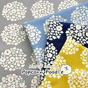 ▼Popcorn★Poodle♪(ポップコーン プードル)≪10番キャンバス≫※108cm幅 コットン100%