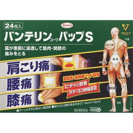 【第2類医薬品】興和 バンテリンコーワパップS 24枚