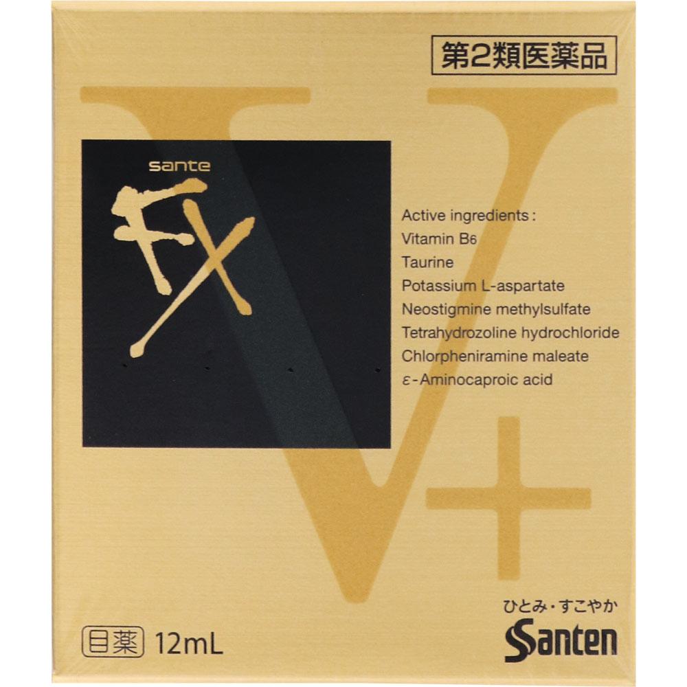 【第2類医薬品】参天製薬 サンテFX Vプラス 12ml【point】