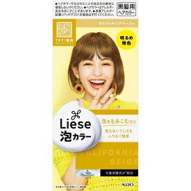 花王 リーゼプリティア 泡カラー カリフォルニアベージュ 108ml (医薬部外品)