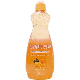 MK 台所用洗剤 オレンジ 本体 600ml
