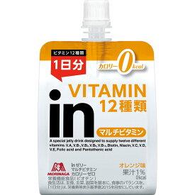 森永製菓 inゼリー マルチビタミンカロリーゼロ 180g
