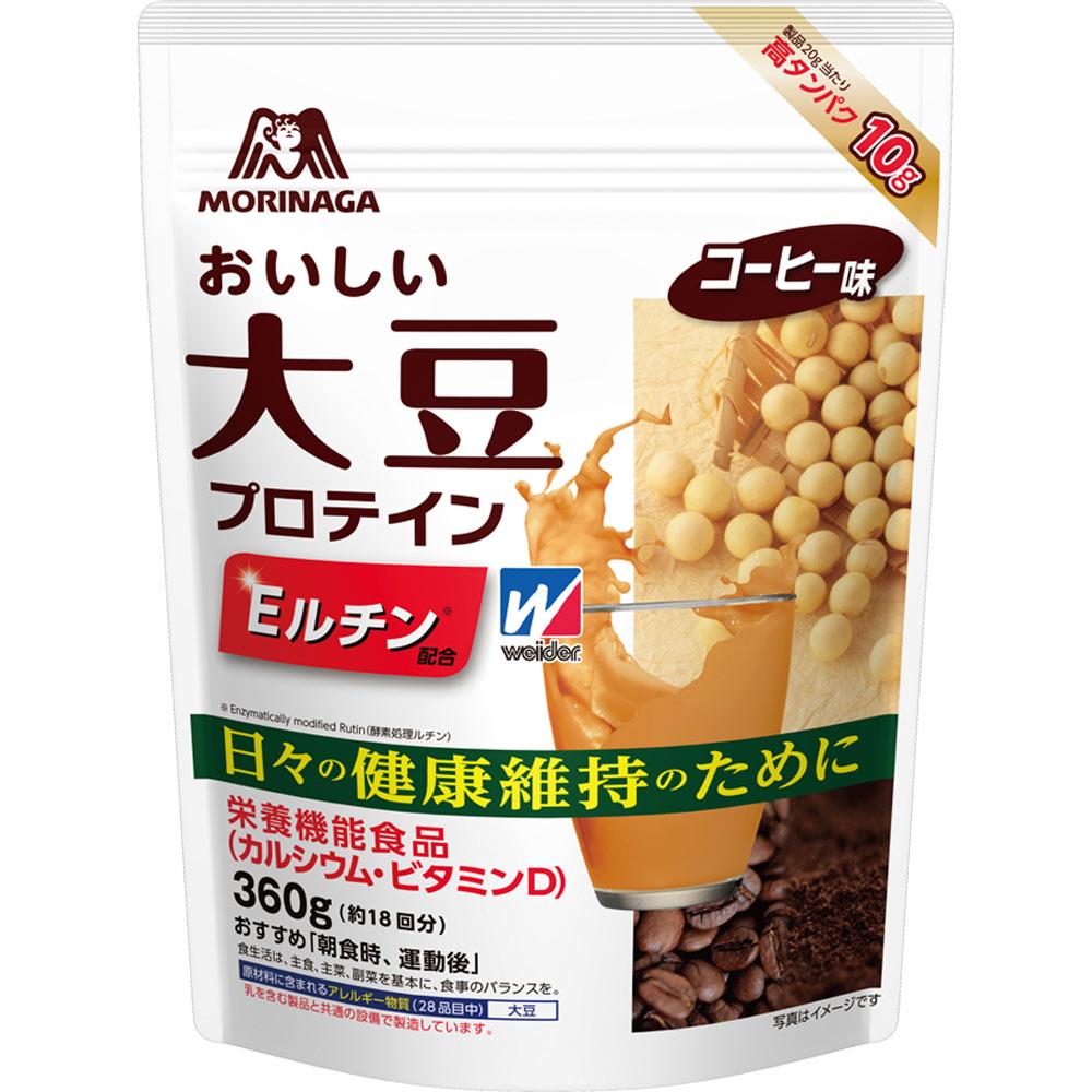 森永製菓 ウィダー おいしい大豆プロテイン 360g