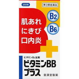 【第3類医薬品】皇漢堂製薬 ビタミンBBプラス「クニヒロ」 250錠