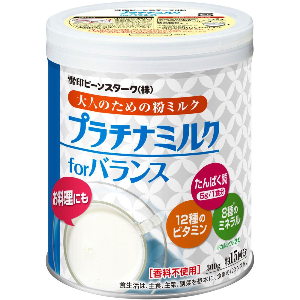 ビーンスターク・スノー 雪印 プラチナミルクfor バランス やさしいミルク味 300g