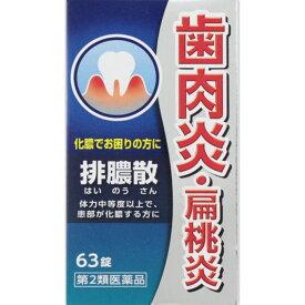 【第2類医薬品】ジェーピーエス製薬 排膿散エキス錠J 63錠