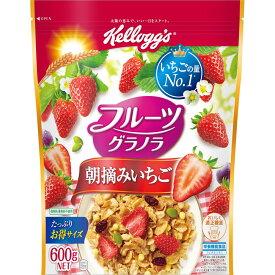 日本ケロッグ フルーツグラノラ 朝摘みいちご 600g