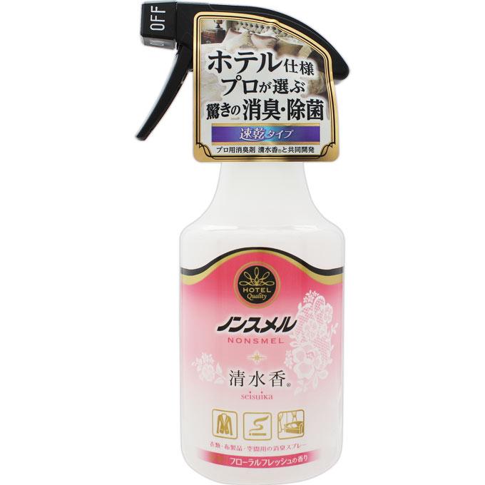 白元アース ノンスメル清水香 衣類・布製品・空間用スプレー フローラルフレッシュの香り 300ml