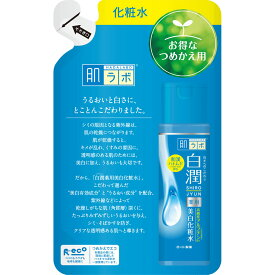 ロート製薬 肌ラボ 白潤薬用美白化粧水 つめかえ用 170ml (医薬部外品)
