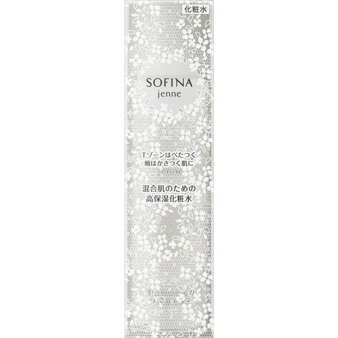 花王 ソフィーナジェンヌ 混合肌のための高保湿化粧水 140ml【point】