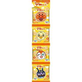 栗山米菓 アンパンマンのソフトせん 13g×4袋