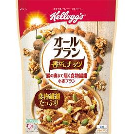 日本ケロッグ オールブラン 香ばしナッツ 410g
