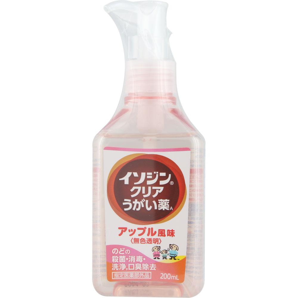 シオノギヘルスケア イソジン クリアうがい薬A 200ml (医薬部外品)