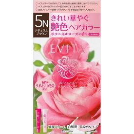 カネボウ化粧品 エビータ トリートメントヘアカラー 5N 45g+45g (医薬部外品)【point】