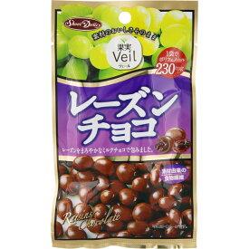 正栄食品工業 果実Veil レーズンチョコ 47g