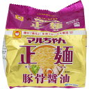 東洋水産 マルちゃん正麺 豚骨醤油 5P 505g