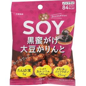 大塚食品 しぜん食感SOY 黒蜜がけ大豆かりんと 21g