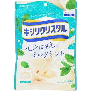 春日井製菓 キシリクリスタル ミルクミント のど飴 71g