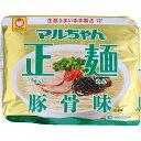 東洋水産 マルちゃん正麺 豚骨味 5P 440g