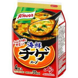 味の素 クノール 海鮮チゲスープ 4P
