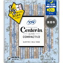 ユニ・チャーム センターインコンパクト1/2 無香料 多い夜用 12枚 (医薬部外品)