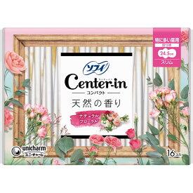 ユニ・チャーム センターインコンパクト1/2 スイ−ト 特に多い昼用 16枚 (医薬部外品)
