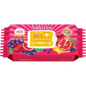 BCL サボリーノ 目ざまシート 完熟果実の高保湿タイプ 28枚入り