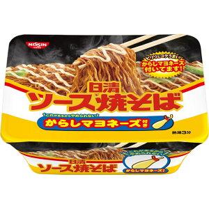 日清食品 ソース焼そば からしマヨネーズ付き 108g