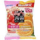 オリヒロプランデュ ぷるんと蒟蒻ゼリー イチゴ+温州みかん 20g×12個