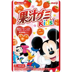 明治 果汁グミキッズ 赤のフルーツ&やさいミックス 41G