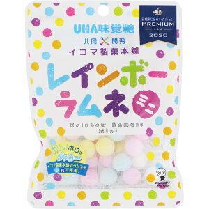 ユーハ味覚糖 レインボーラムネ 40g