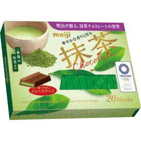 明治 抹茶チョコレートBOX 26枚【point】