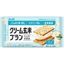 アサヒグループ食品株式会社 クリーム玄米ブラン クリームチーズ 2枚X2袋