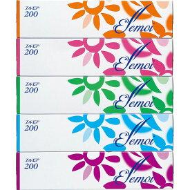 カミ商事 エルモア ティシュー 5箱パック 200組