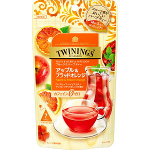 片岡物産 トワイニング アップル&ブラッドオレンジ 7P