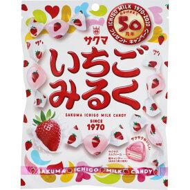 サクマ製菓 いちごみるくチャック 83g