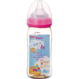 ピジョン 母乳実感哺乳びん プラスチック(トイボックス柄) 240ml
